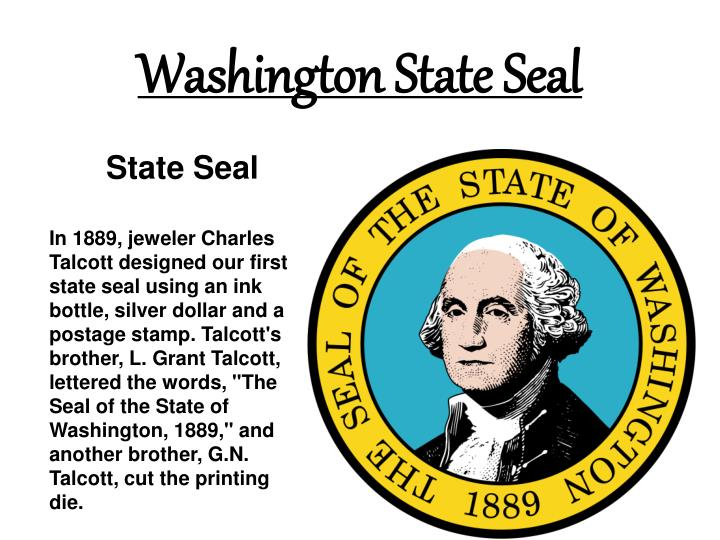 Ppt Washington State Facts And Symbols Powerpoint Presentation