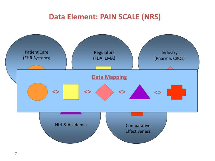 Data Element: PAIN SCALE (NRS)