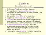 syndicus bevoegdheden art 577 8 4 b w