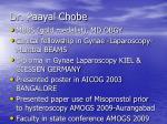 dr paayal chobe