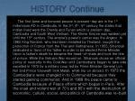 history continue