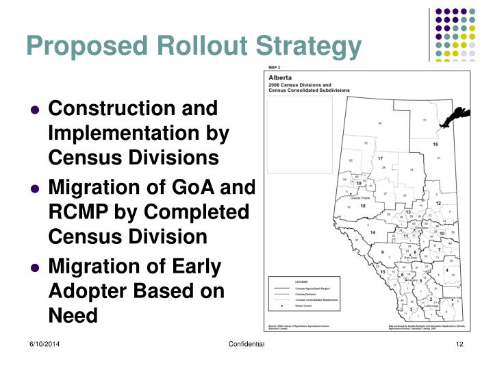 Proposed Rollout Strategy