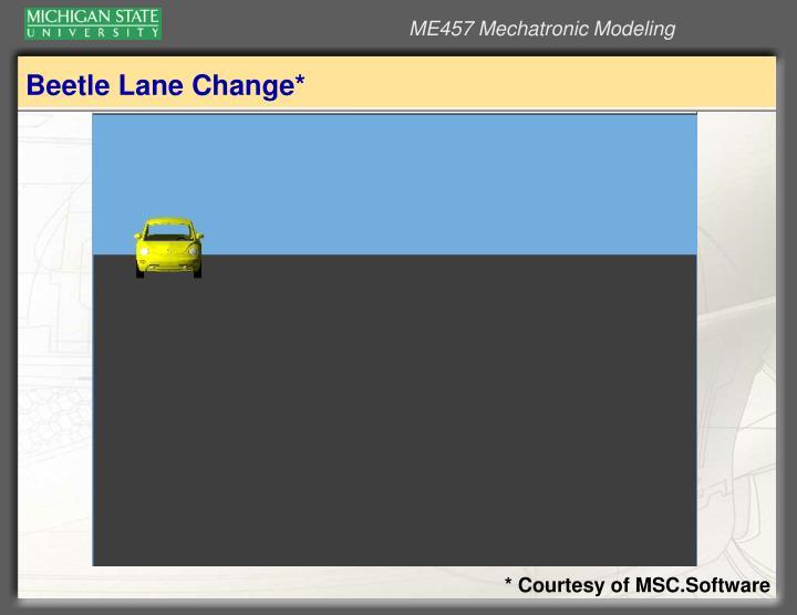 Beetle Lane Change*