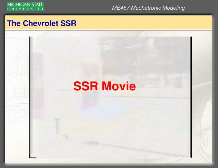 The chevrolet ssr