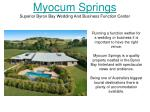 myocum springs superior byron bay wedding and business function center