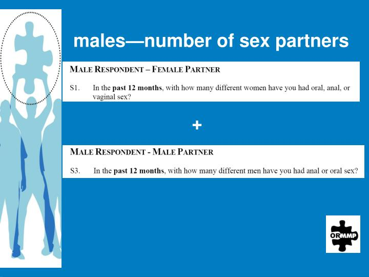 males—number of sex partners
