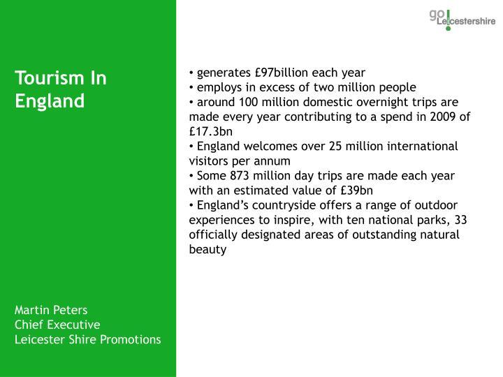 generates £97billion each year