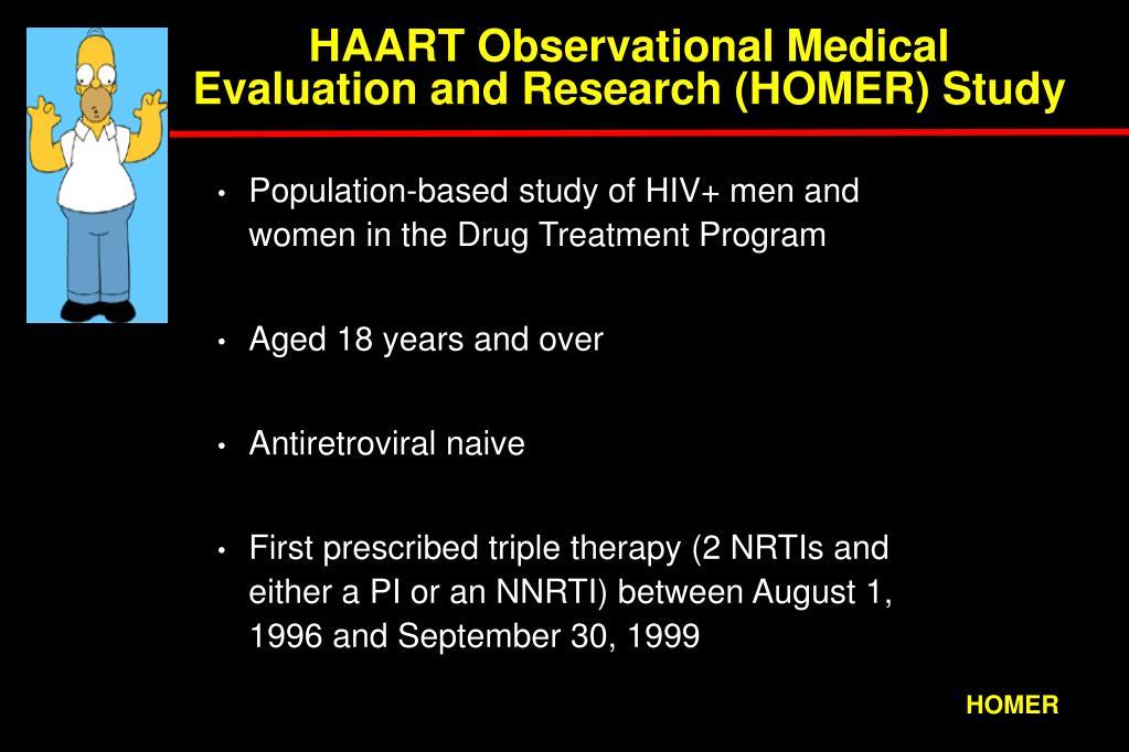HAART Observational Medical