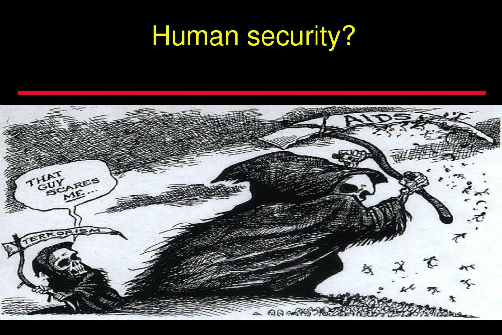 Human security?