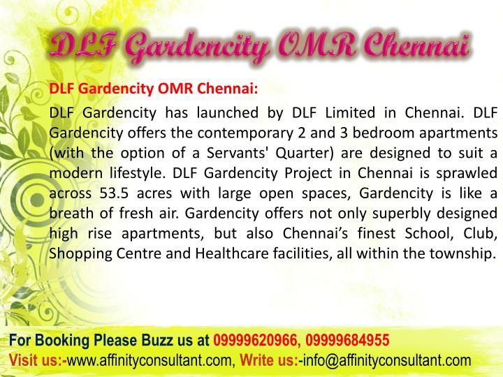 Dlf gardencity omr chennai3