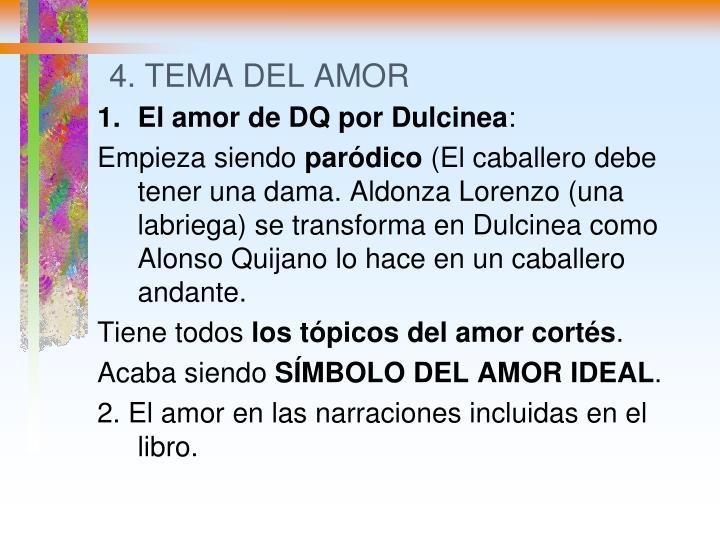 4. TEMA DEL AMOR