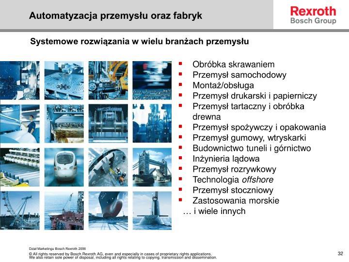 Automatyzacja przemysłu oraz fabryk