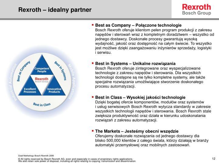 Rexroth – idealny partner