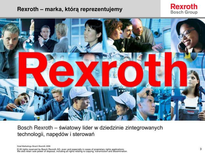 Rexroth marka kt r reprezentujemy
