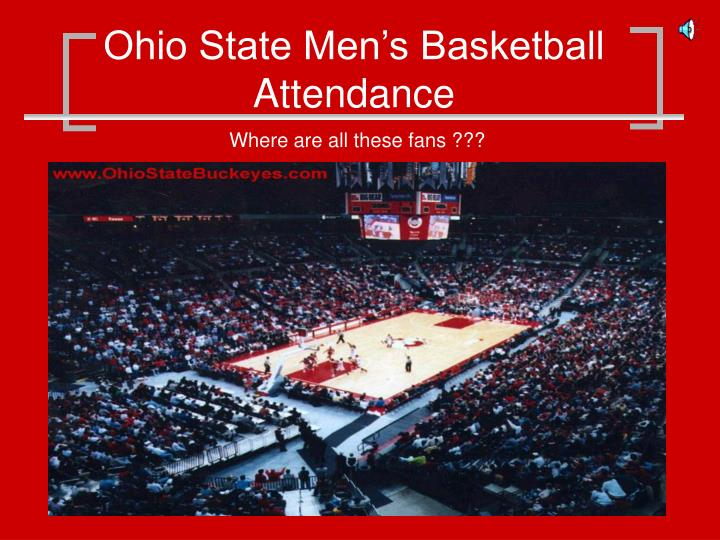ohio state men s basketball attendance n.