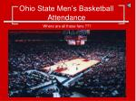ohio state men s basketball attendance