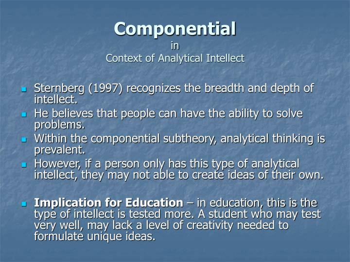 Componential