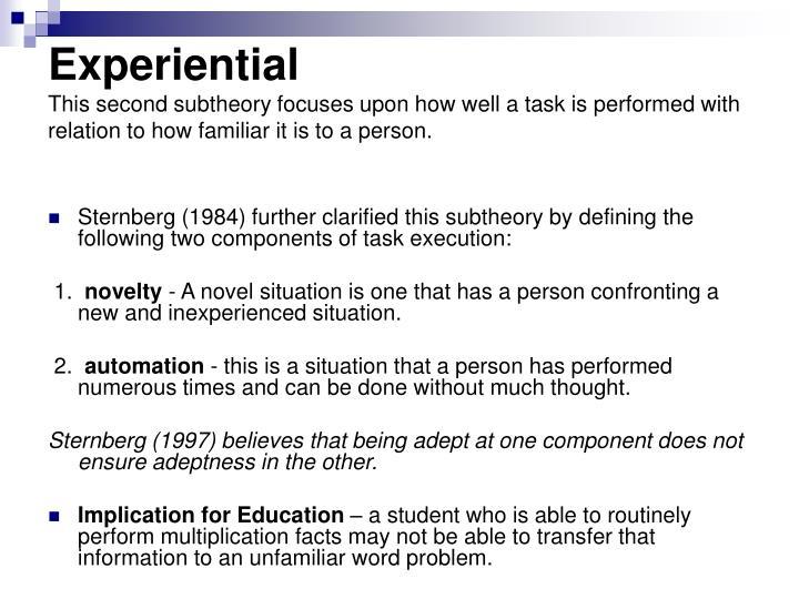 Experiential