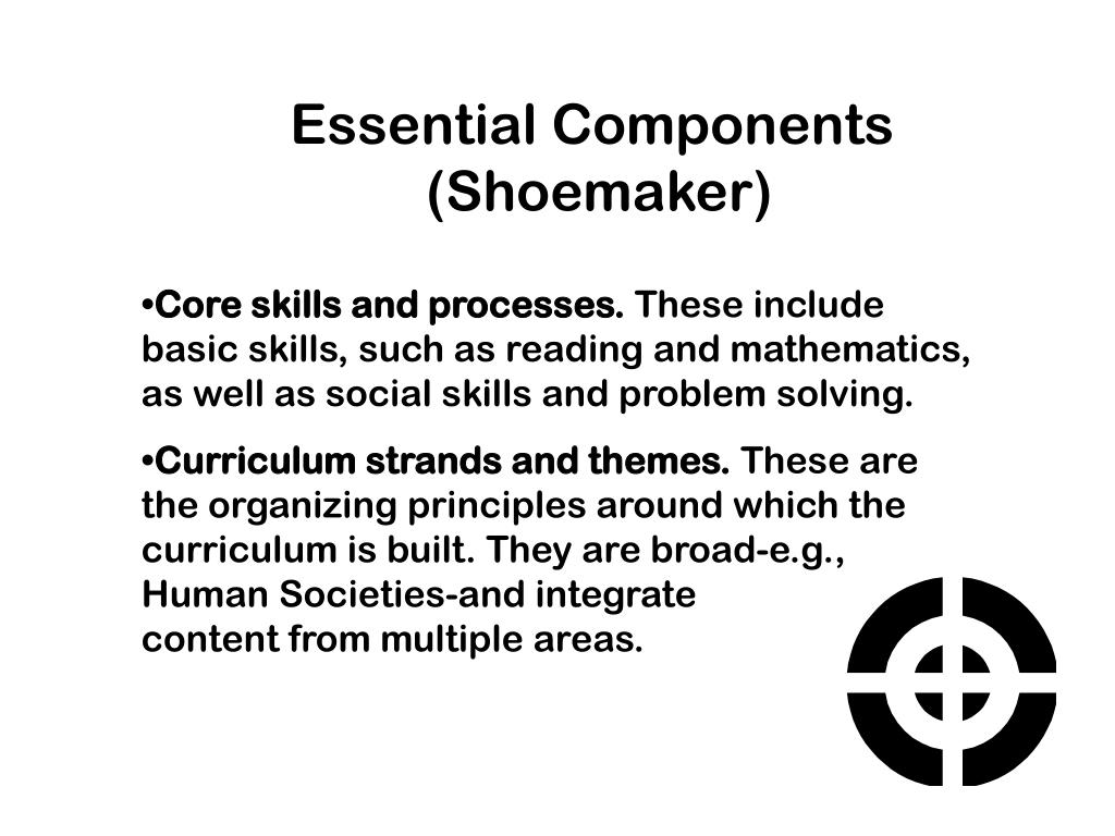 Essential Components