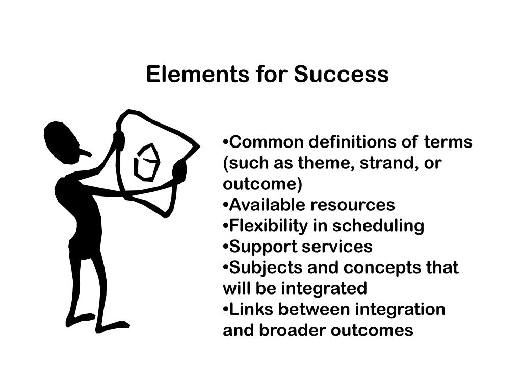 Elements for Success