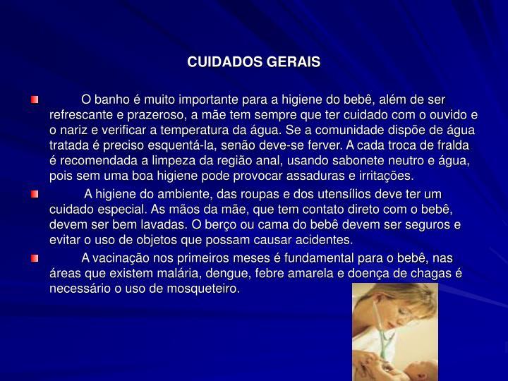 CUIDADOS GERAIS