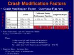 crash modification factors2