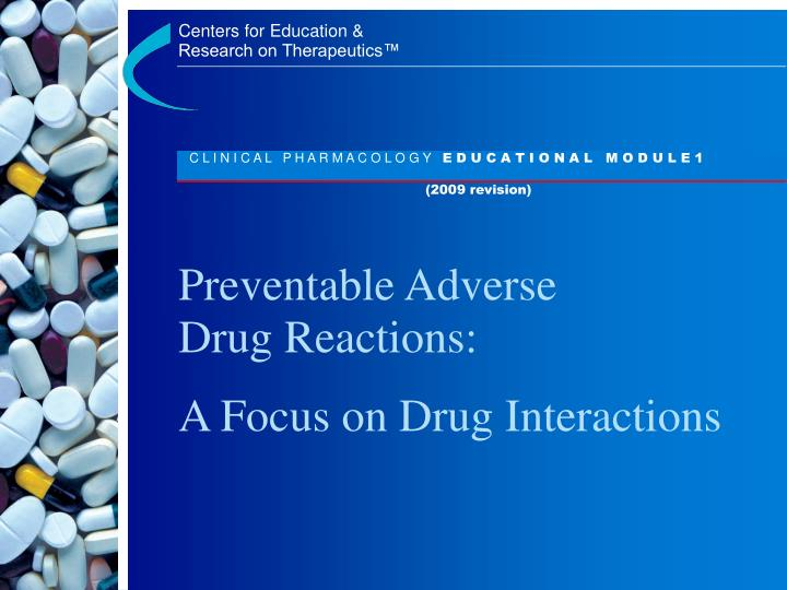 preventable adverse drug reactions n.