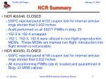 ncr summary4