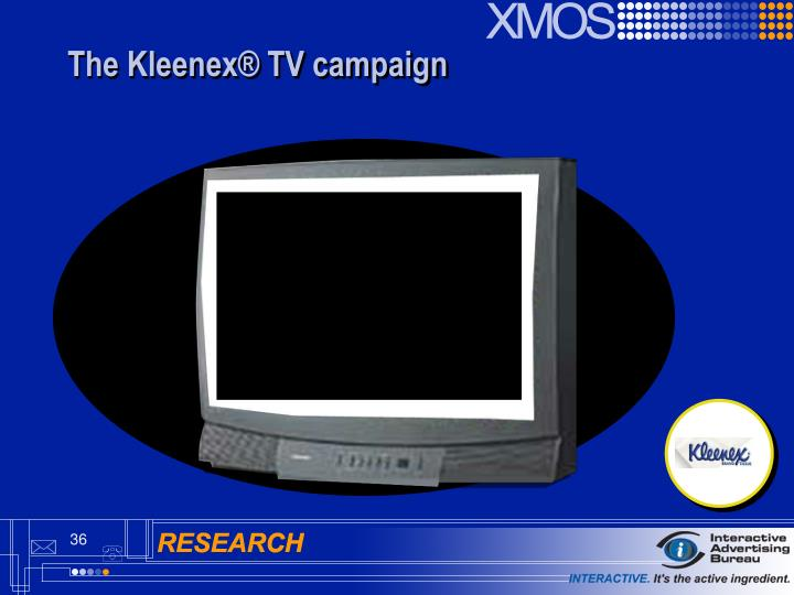 The Kleenex® TV campaign