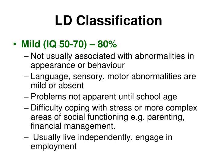 LD Classification