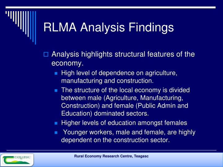 RLMA Analysis Findings