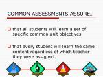 common assessments assure