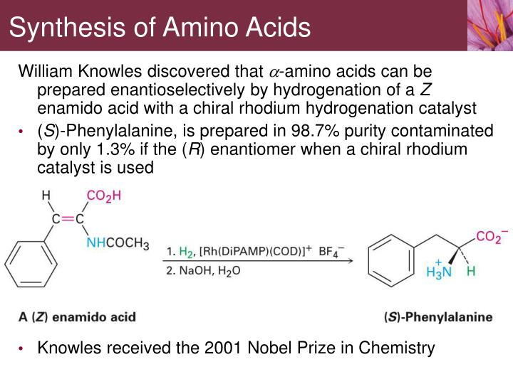 Synthesis of Amino Acids