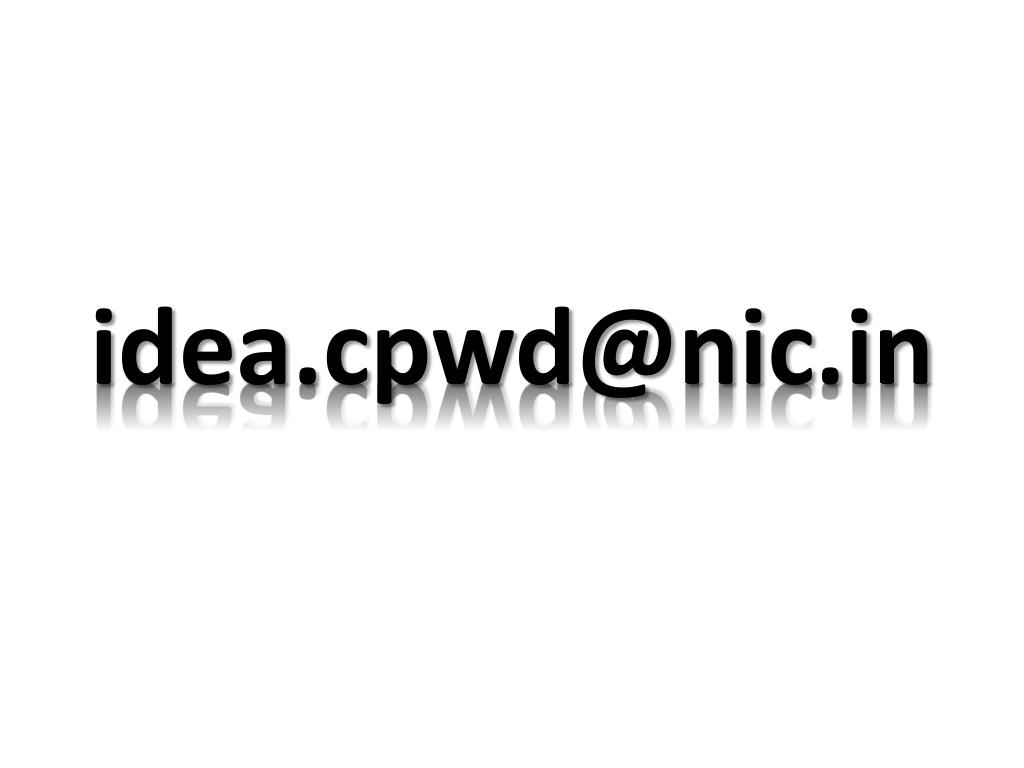 idea.cpwd@nic.in