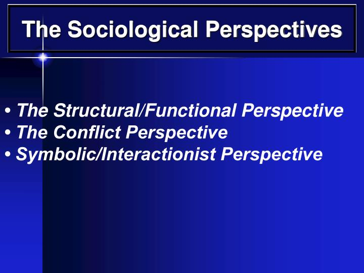 Ppt The Sociological Perspectives Powerpoint Presentation