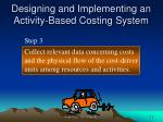 designing and implementing an activity based costing system1