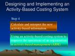 designing and implementing an activity based costing system2