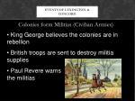 events of lexington concord