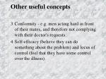 other useful concepts1