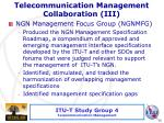 telecommunication management collaboration iii