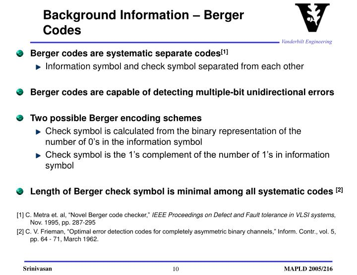 PPT Evaluation of Error Detection Strategies for an FPGA