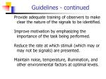 guidelines continued13