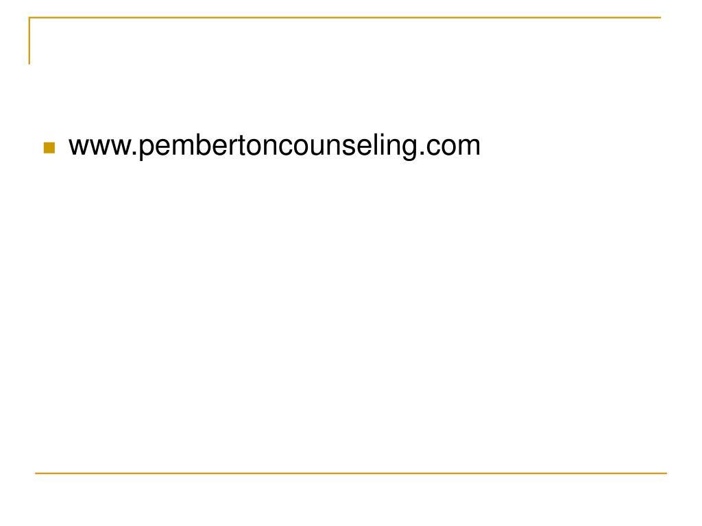 www.pembertoncounseling.com