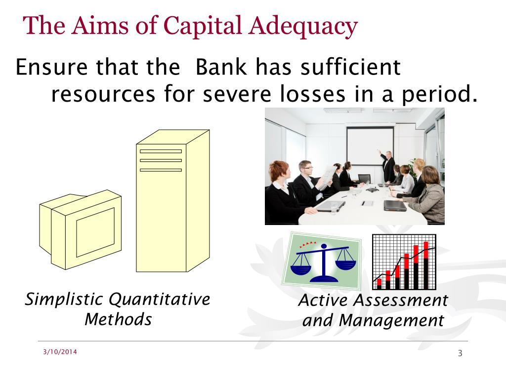 The Aims of Capital Adequacy