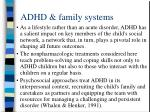 adhd family systems