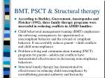 bmt psct structural therapy