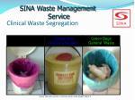 clinical waste segregation