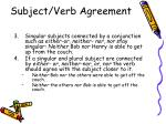 subject verb agreement2