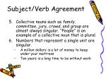 subject verb agreement3