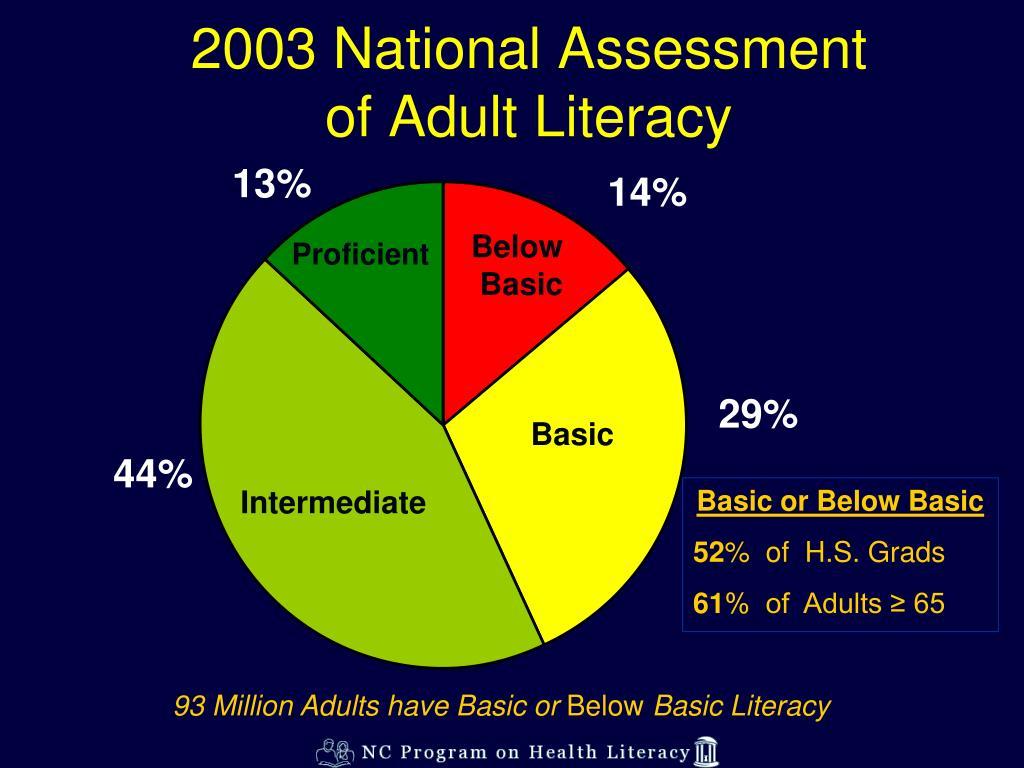 2003 National Assessment